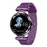 Inteligente Manera del Reloj SmartWatch usable Dispositivo Bluetooth podómetro Monitor de Ritmo cardíaco Inteligente Reloj for Android/iOS Inteligente Pulsera Pulsera Inteligente (Color: Plata) meye