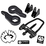 TORCH 3' Front Lift Kit For 2001-2010 Chevy Silverado GMC Sierra 2500 3500 HD SE Tool