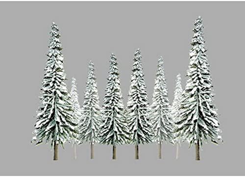Super Scenic Tree, Snow Pine 1-2 (55) by JTT Scenery Products
