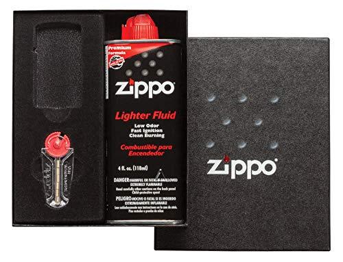 Zippo Slim Gift Kit (Lighter NOT Included), Black, One Size