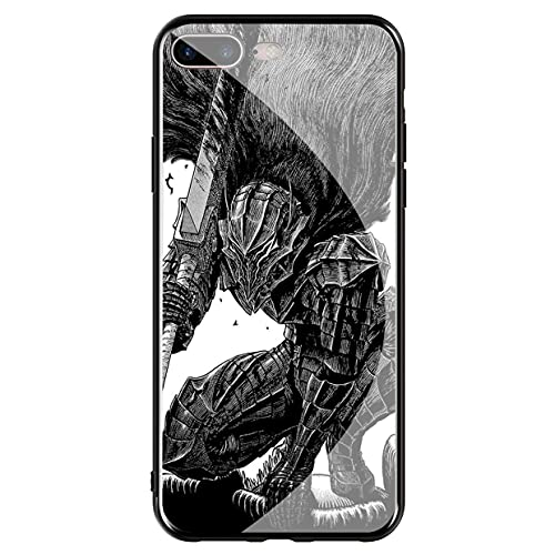 Compatible with Cover iPhone 7 & Cover iPhone 8 Tempered Glass Phone Case Cover Grum PY Dwa RF Case_Mode_342