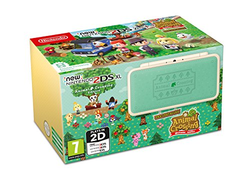 Nintendo New 2DS XL- Konsole Animal Crossing Edition + Animal Crossing: New Leaf - Welcome to amiibo