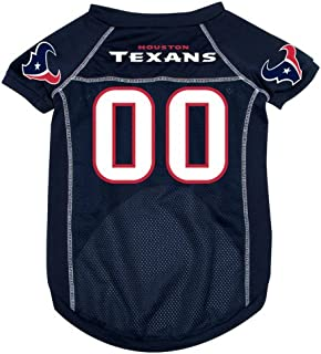 Houston Texans Deluxe Dog Jersey - Small