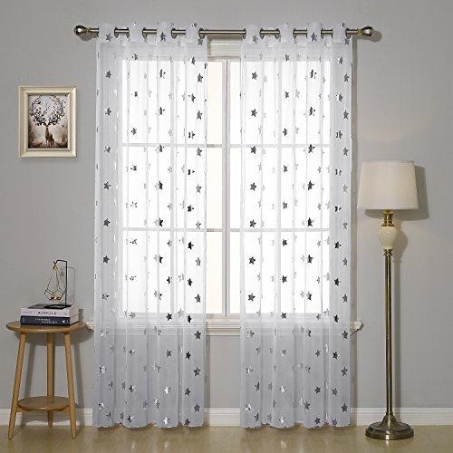 cortinas visillos estrellas