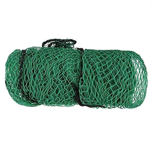TOPVORK Golf-Übungsnetz, robustes Netz, Seilumrandung, Sportbarriere, Trainingsnetz, Golf-Trainings-Zubehör, 300 cm x 300 cm
