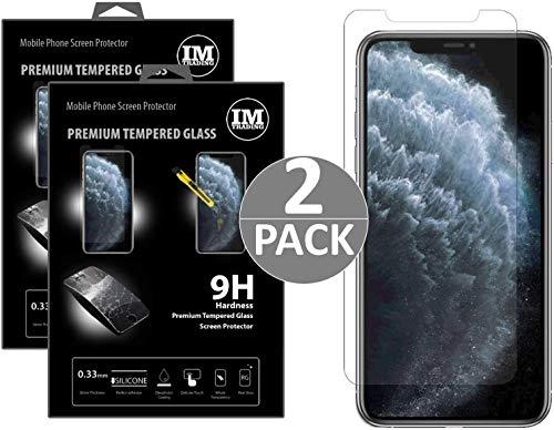 2X Panzerfolie Schutzglas Verbundglas Displayfolie Displayglas Glas Folie 9H kompatibel mit Huawei Nova 2 Plus