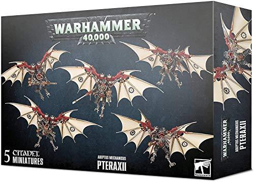 Games Workshop Warhammer 40,000: Adeptus Mechanicus Pteraxii Miniatures