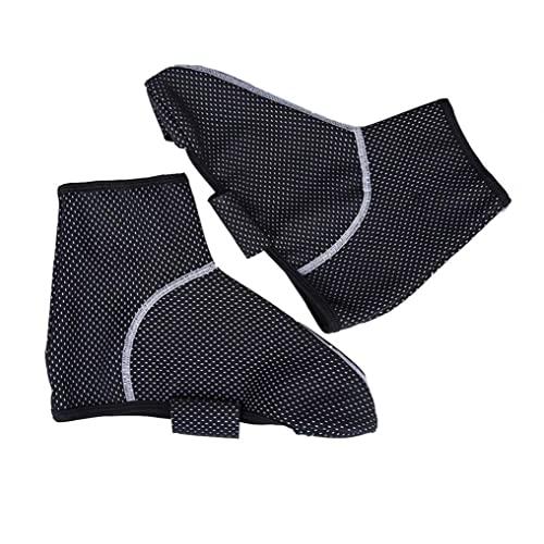 1 Par Zapatillas Cubiertas Cubre Zapatos Impermeables Cubre Deportes Al Aire Libre Zapato Protector De Zapatos De Montaña Zapatos De Bicicleta Protección Invernal Lluvia Lluvia Viento a Prueba De