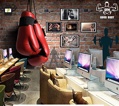 MUMU Fitness Boxhandschuhe~Benutzerdefinierte Moderne 3D Tapeten Wandbild Für Die Der Sofa Schlaf zimmer Kinderzimmer Hintergrundbild ~250cm x175cm