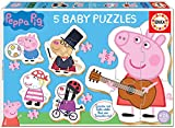 Educa- Peppa Pig Conjucto de Baby Puzzles, Multicolor (18589)