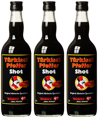 Trimex Türkisch Pfeffer Vodka Shot 30% (3 x 0.7 l)
