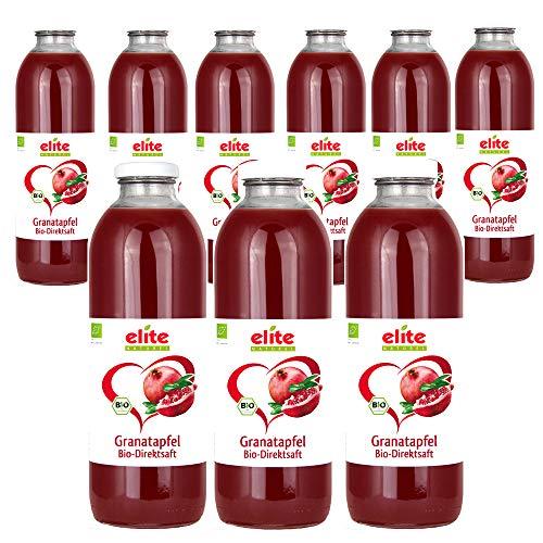 Elite Naturel Bio Granatapfel 100% Direktsaft, 9x 700 ml