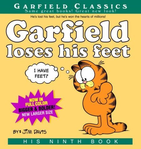 [Garfield Loses His Feet: His 9th Book] (By: Jim Davis) [published: August, 2004]