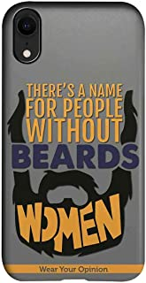 Macmerise IPCIXRPWY1338 Men with beard - Pro Case for iPhone XR - Multicolor (Pack of1)
