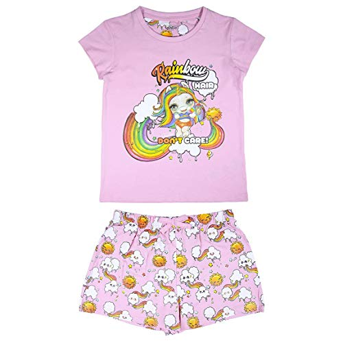 Cerdá Meisjes Pyjama set - Poopsie Slime Surprise | Pijama Unicornio Niña de Color Rosa