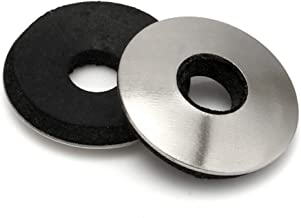50 Quantity by Bridge Fasteners #12 EPDM Neoprene Rubber Bonded Sealing Washers 18.8 Stainless Steel