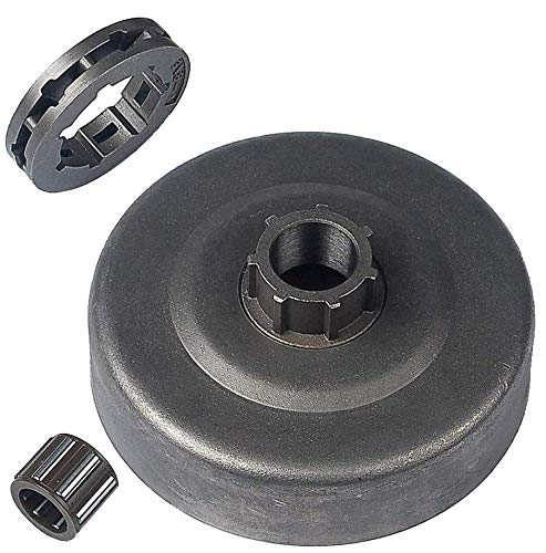 JJDD Koppeling Drum Sprocket Needle Roller Passieve Schijf kit Vervang voor Stihl Kettingzaag MS660 MS650 MS640 met Sprocket Rim