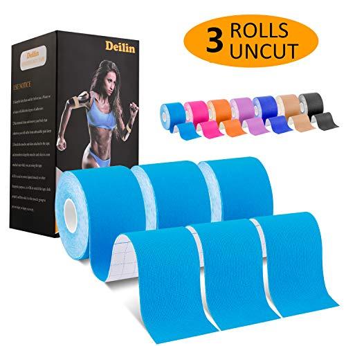 20 bandes à 25 cm chaque Rocktape kinésiologie ruban largeur 50 mm Pre-Cut bande 3 Co