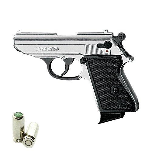 Pistola a Salve KIMAR Walther PPK Lady-K 85 Cal.8 | Top Firing | Acciaio