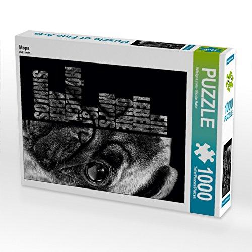 CALVENDO Mops 1000 Teile Puzzle hoch