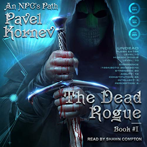 The Dead Rogue audiobook cover art
