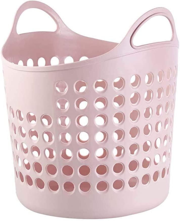 HOUTBY Protable Outlet 2021 spring and summer new SALE Plastic Laundry Hamper Clothing Organizer Storga