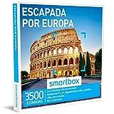 Smartbox - Caja Regalo - ESCAPADA por Europa - 3500 estancias en hoteles de 3* y 4*, alojamientos...