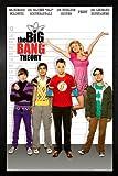 GB Eye Limited Poster Big Bang Theory - Line Up, gerahmt,