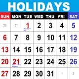 Holiday Calendar World Calendar Public Holidays Calendar