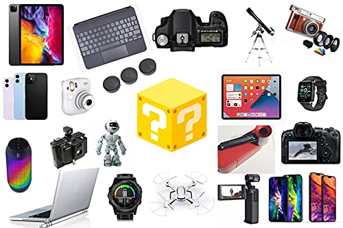 nakw88 Scatola cieca Mysterys Boxs Electronics, Mysterys Boxses Random, Birthday Surprise Boxs, Luckys Boxs for Adults Surprise Gift, Such As Drones, Smart Watches, Gamepads And More, Best Gift for H