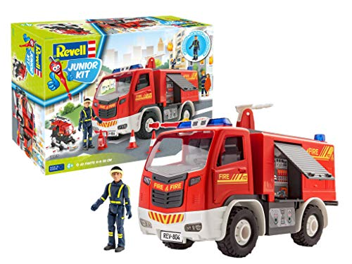 Revell Junior Kit 00819 Feuerwehr mit Figur