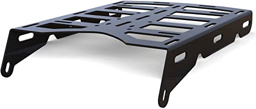 Cargo Rack Luggage Carrier Utility Rear Tail Holder Black Powdercoat fits: 08-16 Yamaha WR250R - Immix Racing - 100-006-black