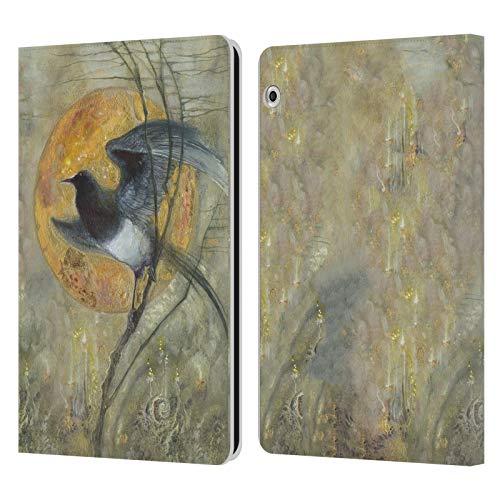 Officiële Stephanie Law Ekster Vreemde dromen Lederen Book Portemonnee Cover Compatibel voor Huawei MediaPad T3 10