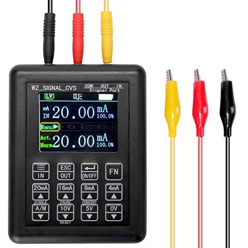 KKmoon Generador de señal Fuentes Simulador analógico de alto voltaje ajustable de corriente precisa 0-10V 4-20mA