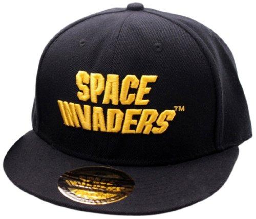 Space Invaders - Logo Casquette - Noir