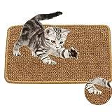 Xnuoyo Alfombras Rascadoras para Gatos 30x40CM Almohadilla De Sisal Natural Juguete para El Cuidado De La Pata De Gato para Proteger La Alfombra Y El Sofá