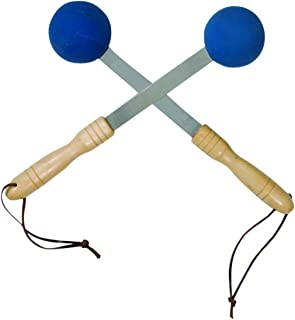 Bongers Percussion Massager, Blue, Pair