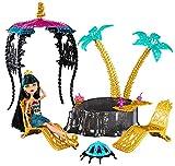 Monster High - Muñeca Cleo, Cofre  y Oasis Misterioso (Mattel Y7716)