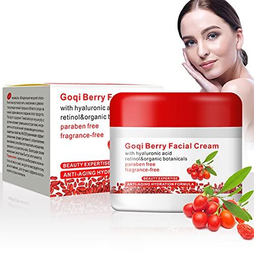 Yuyte Fashion Goji Berries Anti-Envejecimiento Antioxidante Facial Hidratante Revitalizante Anti Arrugas Crema