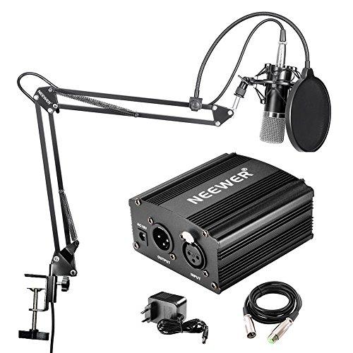 Neewer NW-700 Professionelle Studio Rundfunk & Aufnahme Kondensator-Mikrofon Kit
