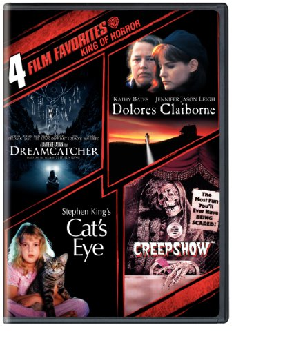 4 Film Favorites: Stephen King (Creepshow, Dolores Claiborne, Dreamcatcher, Stephen King's Cat's Eye)