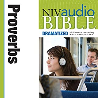 Dramatized Audio Bible - New International Version, NIV: (19) Proverbs audiobook cover art