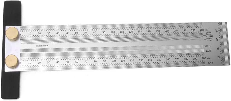 Woodworking T Max 40% OFF Ruler Ultra T-Rule Precision Sq Fashion Marking