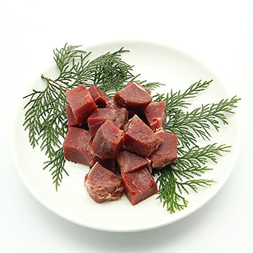 鹿肉(犬用・猫用)サイコロ 500g シカ肉 おやつ【クール冷凍便】