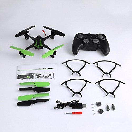 Sweepid Quadricottero acrobatico a Batteria da 2,4 GHz 4CH RC Drone Remote Control