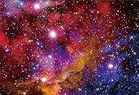 HD 7x5ftパープルギャラクシー背景ミルキーウェイの写真背景に輝く星夢のような星空スペーステーマ誕生日子供大人芸術的ポートレート写真撮影小道具