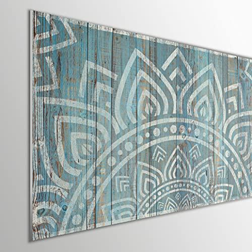 MEGADECOR DECORATE YOUR HOME Cabecero Cama PVC 5mm Decorativo Económico. Modelo - Hockanum (150x60cm)