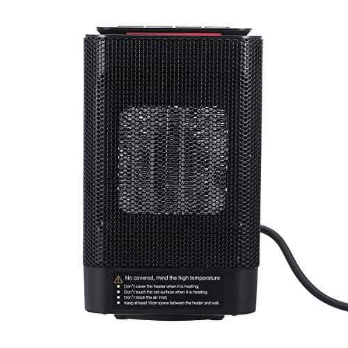 YEZIB - PTC Calentador de Aire eléctrico Potente soplador cálido Calentador rápido Estufa de Ventilador Radiador Calentador para la Oficina en casa 220V 950W para el Laboratorio Escolar.