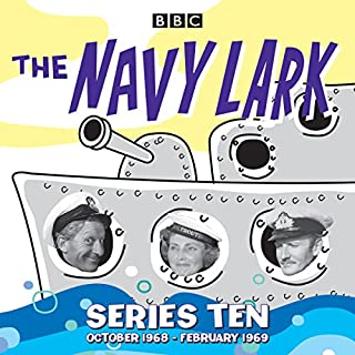 The Navy Lark: Collected Series 10 audiobook cover art