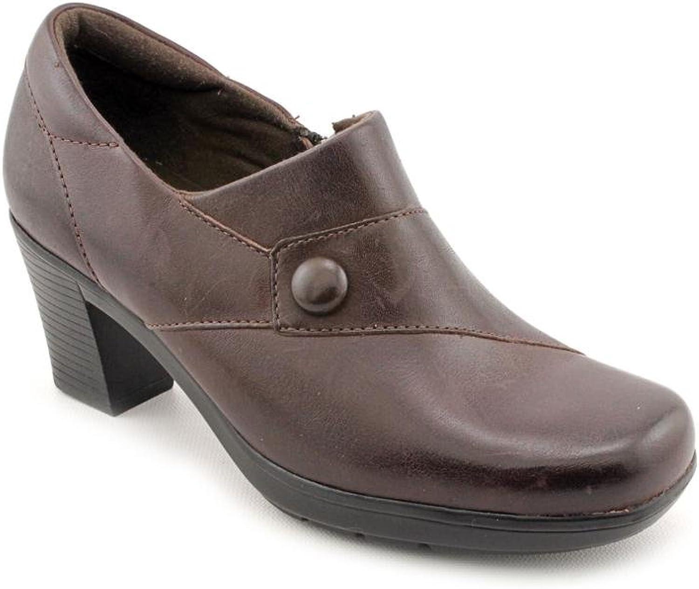 Clarks Women's shoes Dream Song Booties, Dark Brown
